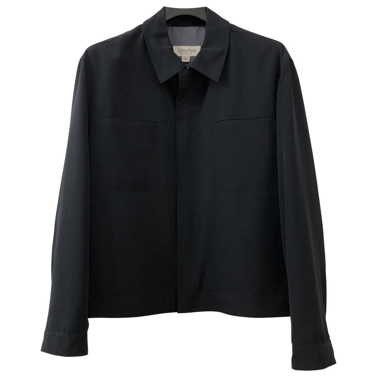 Calvin Klein Collection - Vestes.Blousons   pour homme - bleu