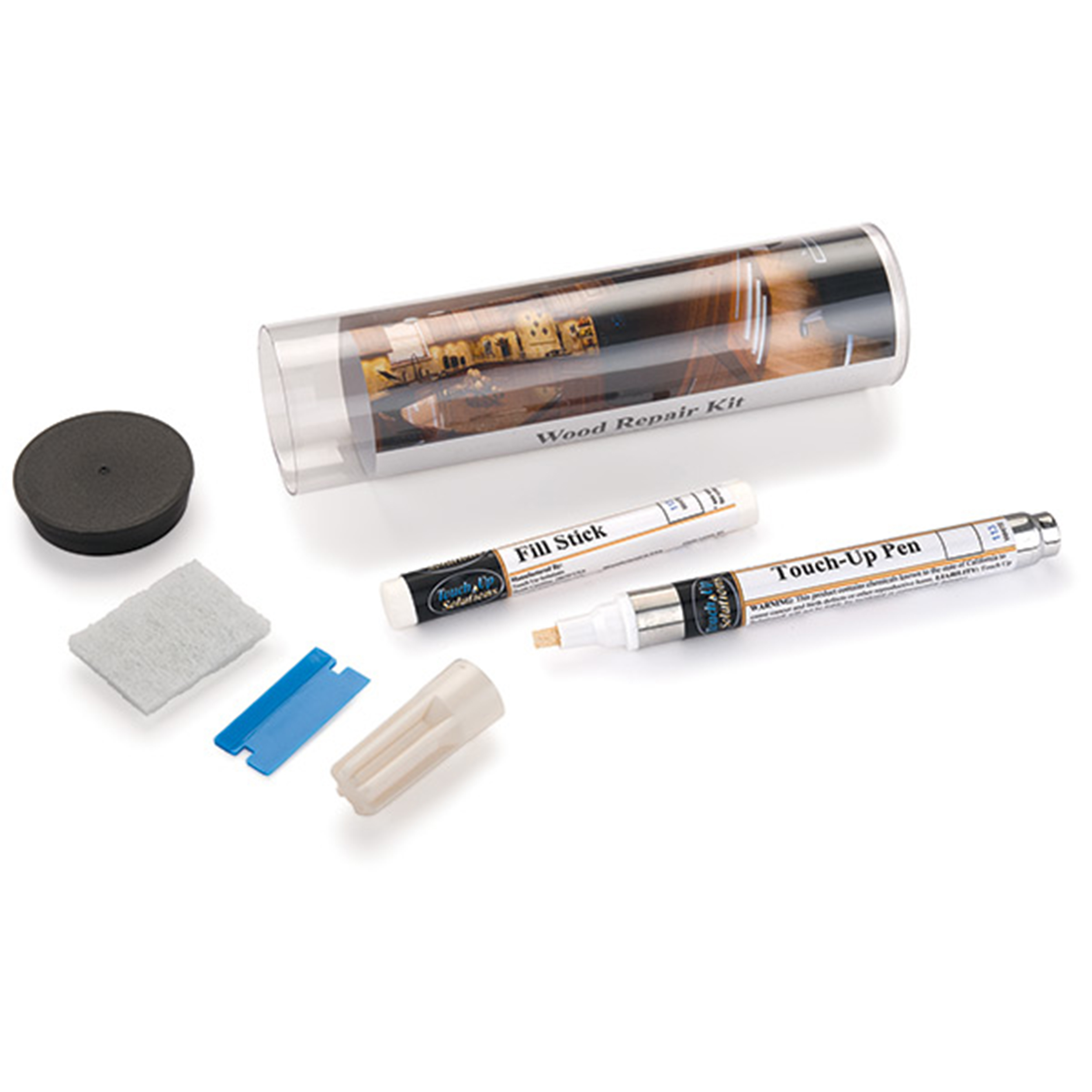 TouchUp Solutions Dark Red Mahogany Touch Up Kit