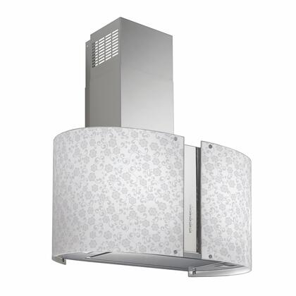 IS34MUR-MAYFLOWERLED 34 Murano Mayflower Series Range Hood offer 940 CFM  4-Speed Electronic Controls  Delayed Shut-Off  Filter Cleaning Reminder