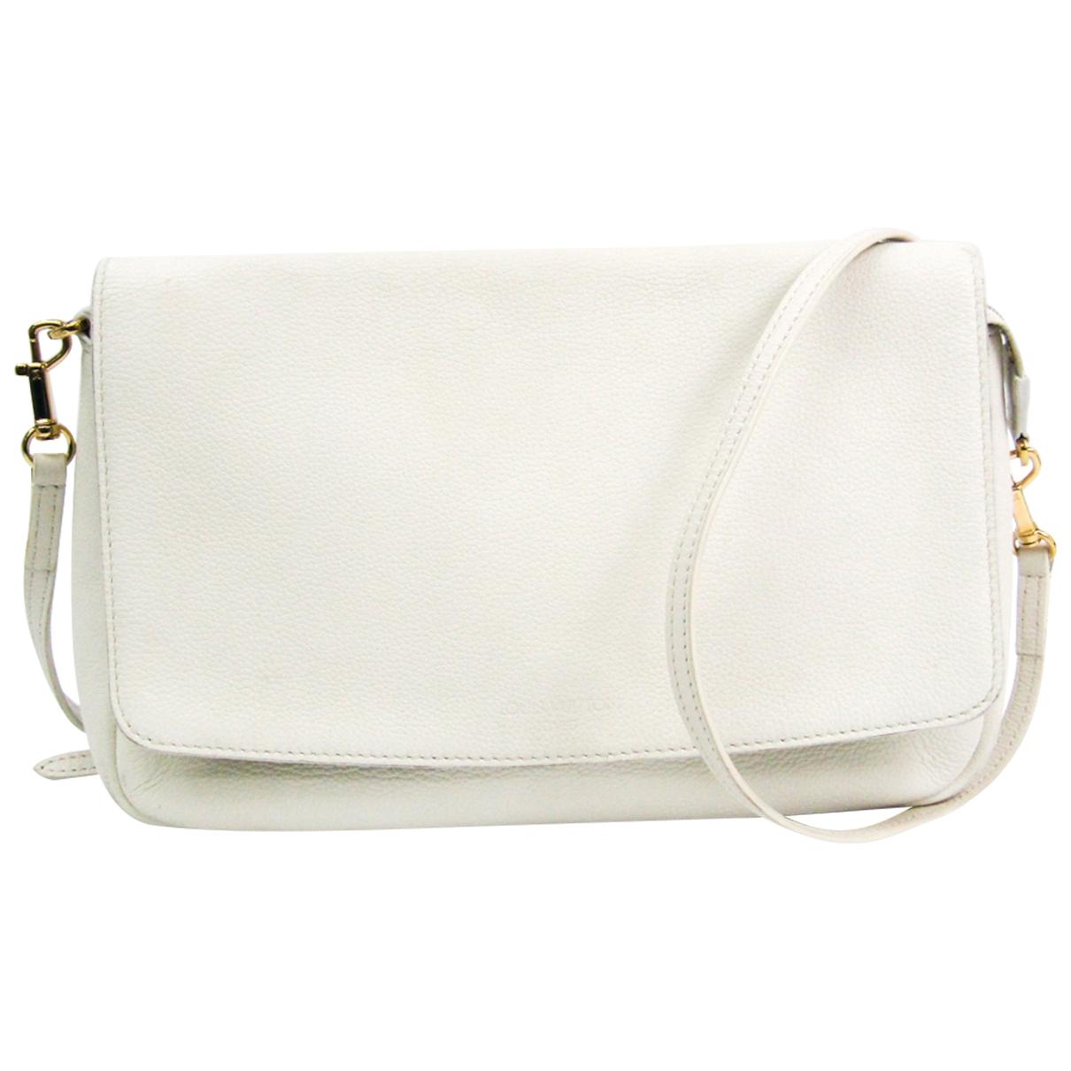 Louis Vuitton - Sac a main   pour femme en cuir - blanc