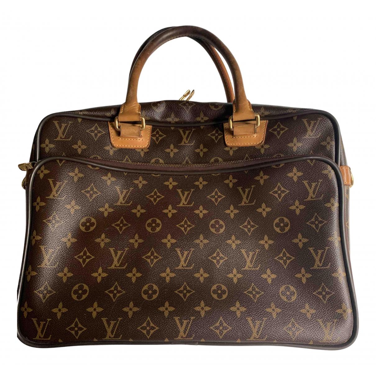 Louis Vuitton - Sac Icare pour homme en toile - marron