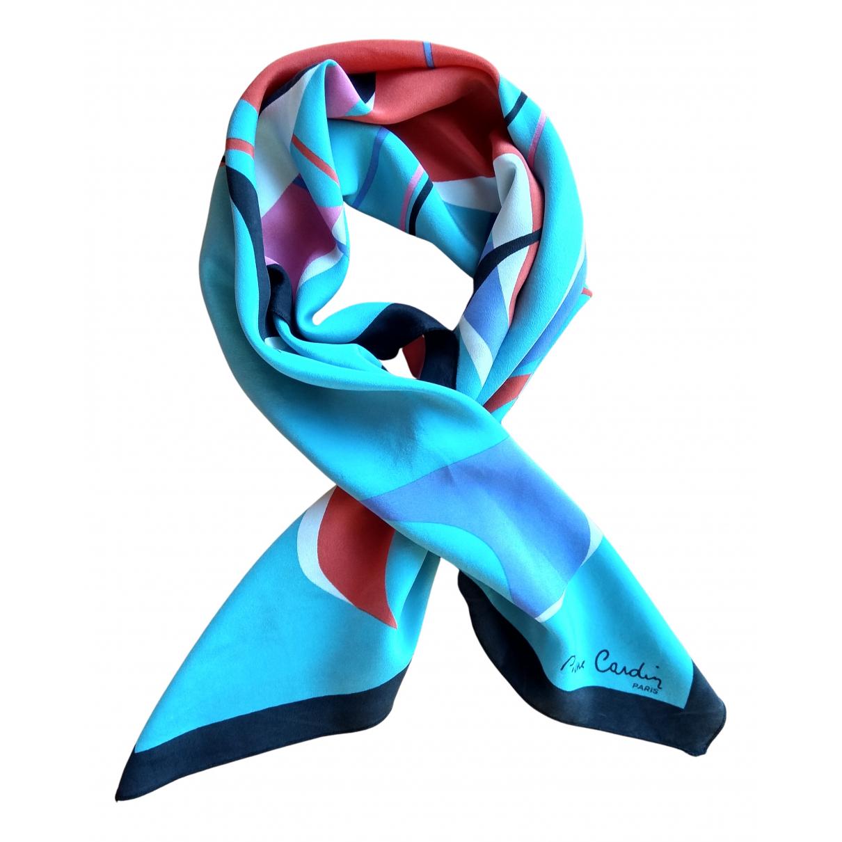 Pierre Cardin - Foulard   pour femme en soie - multicolore