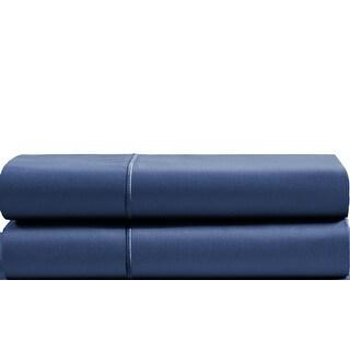 Luxury Solid Egyptian Cotton 800 Thread Count Pillowcases (Set of 2) (Standard Pillowcase - Dark Denim)