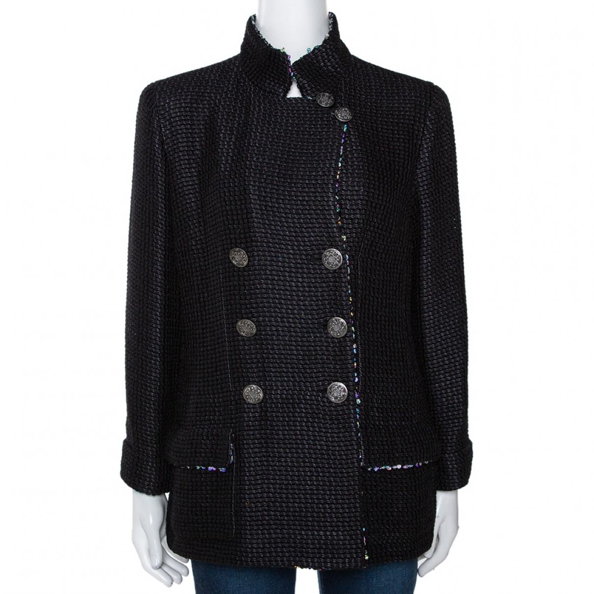 Chanel \N Black Silk jacket for Women L International