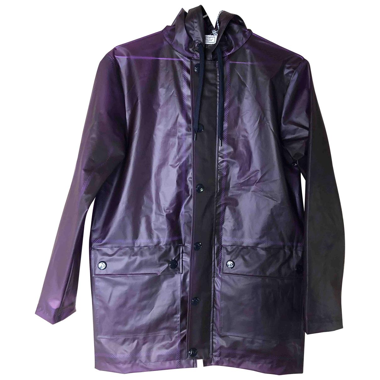 Petit Bateau \N Purple Trench coat for Women XS International