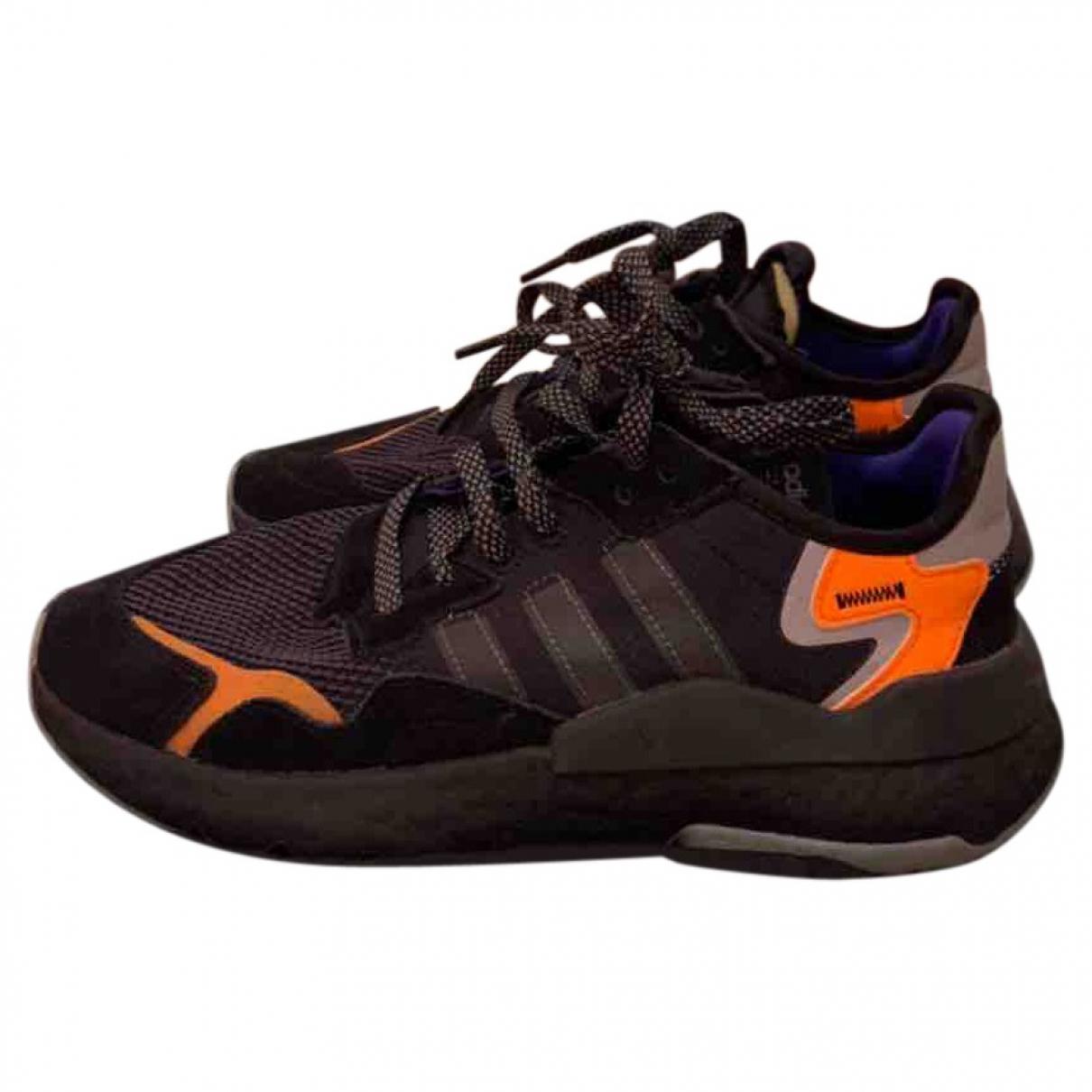 Adidas \N Black Cloth Trainers for Women 39.5 EU