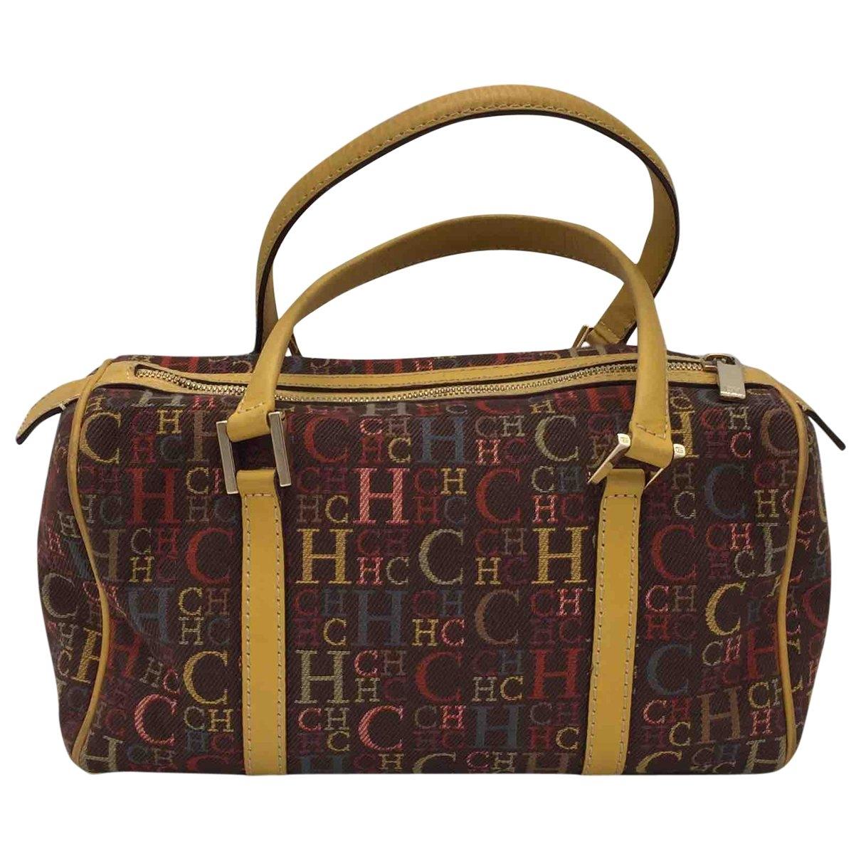 Carolina Herrera \N Brown Tweed handbag for Women \N