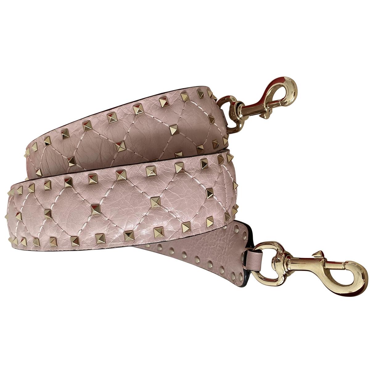 Valentino Garavani - Petite maroquinerie   pour femme en cuir - rose