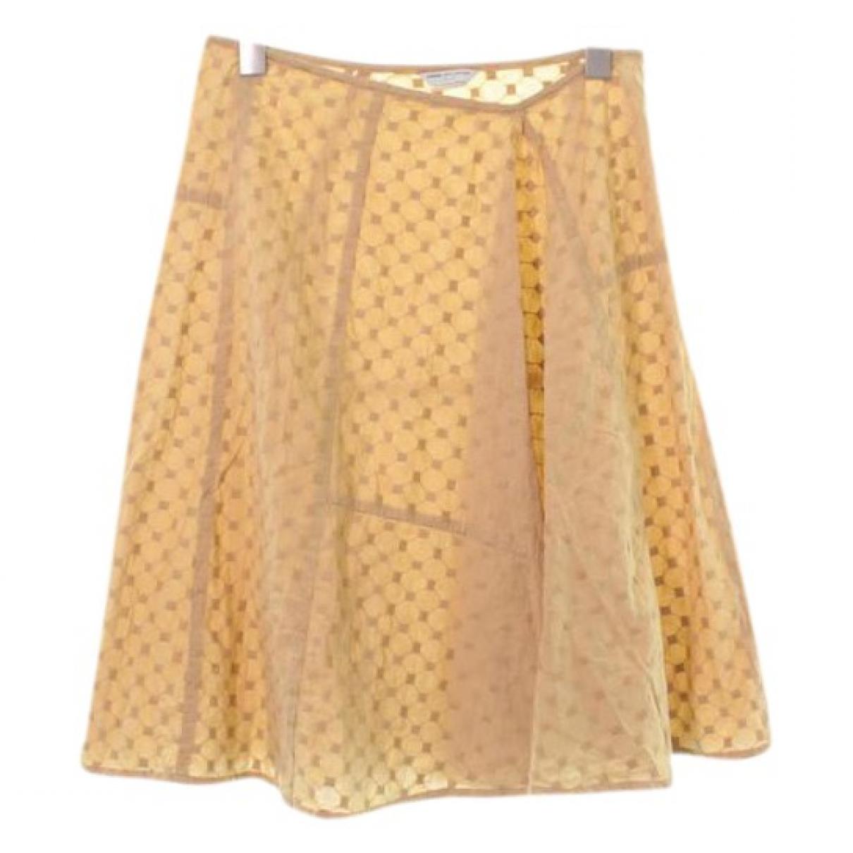 Dries Van Noten - Jupe   pour femme en coton - beige