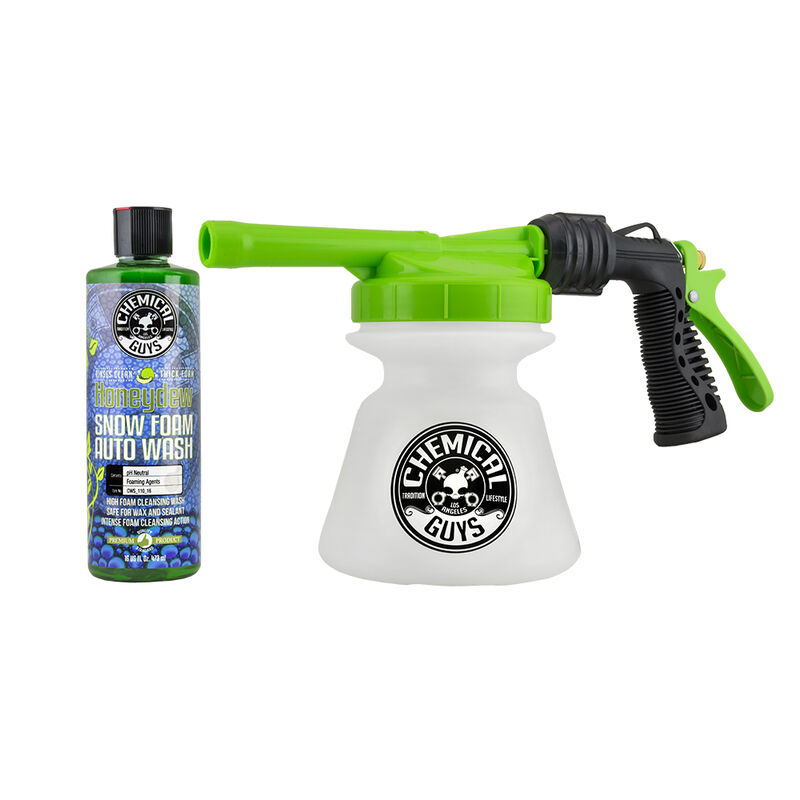 Professional TORQ Snow Foam Cannon Blaster R1 With Honeydew Car Wash Soap - Chemical Guys