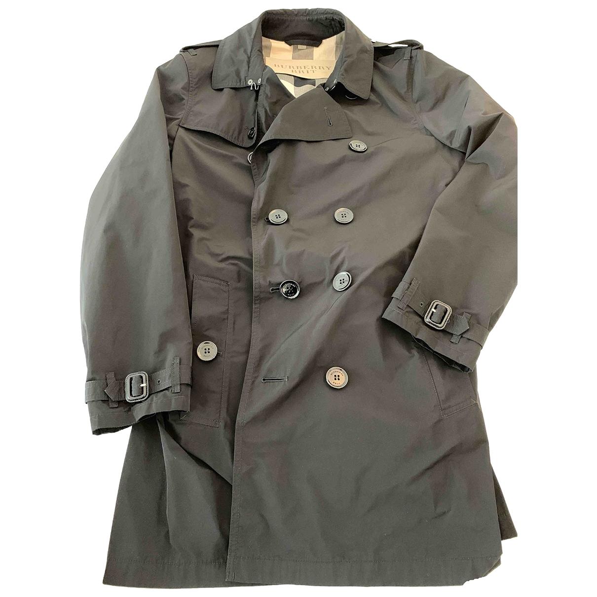 Burberry - Manteau   pour homme - noir