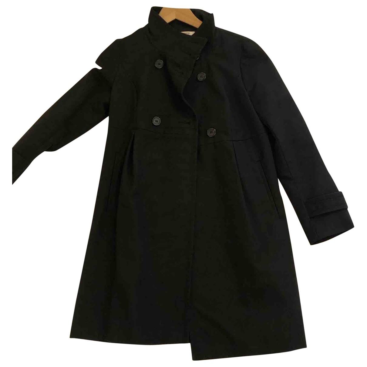 Comptoir Des Cotonniers \N Brown Cotton coat for Women 34 FR