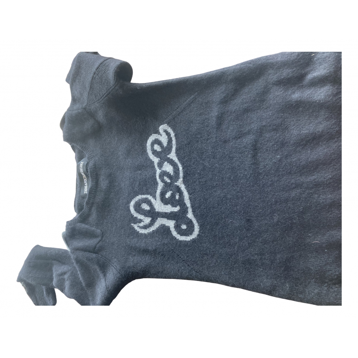 Zadig & Voltaire \N Black Cashmere Knitwear for Women 36 FR