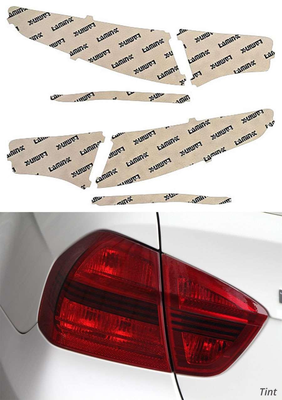 Kia Optima 11-13 Tint Tail Light Covers Lamin-X K219T