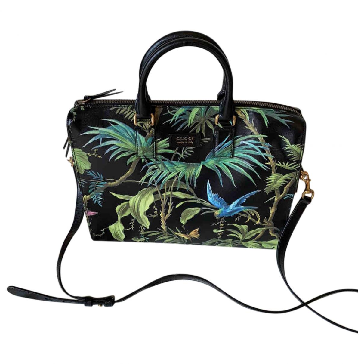 Gucci Boston Multicolour Leather handbag for Women \N