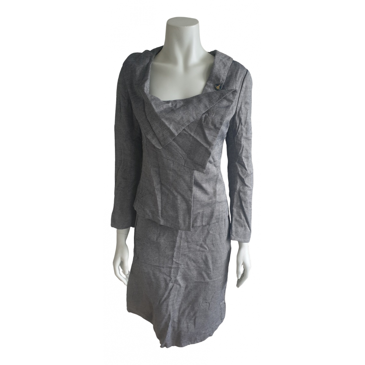 Vivienne Westwood \N Anthracite jacket for Women 42 IT