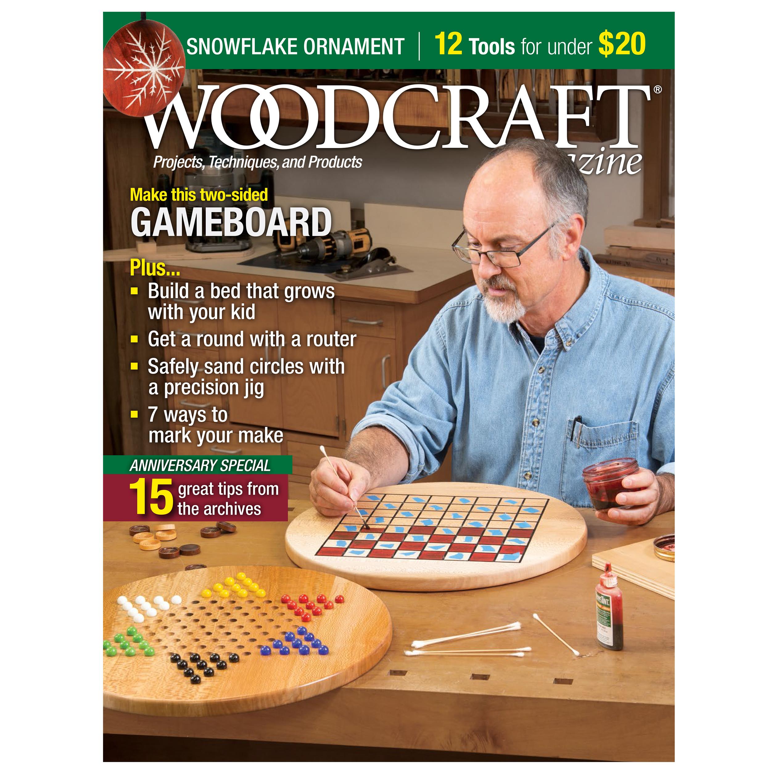 Woodcraft Magazine Issue 92 December / January 2020