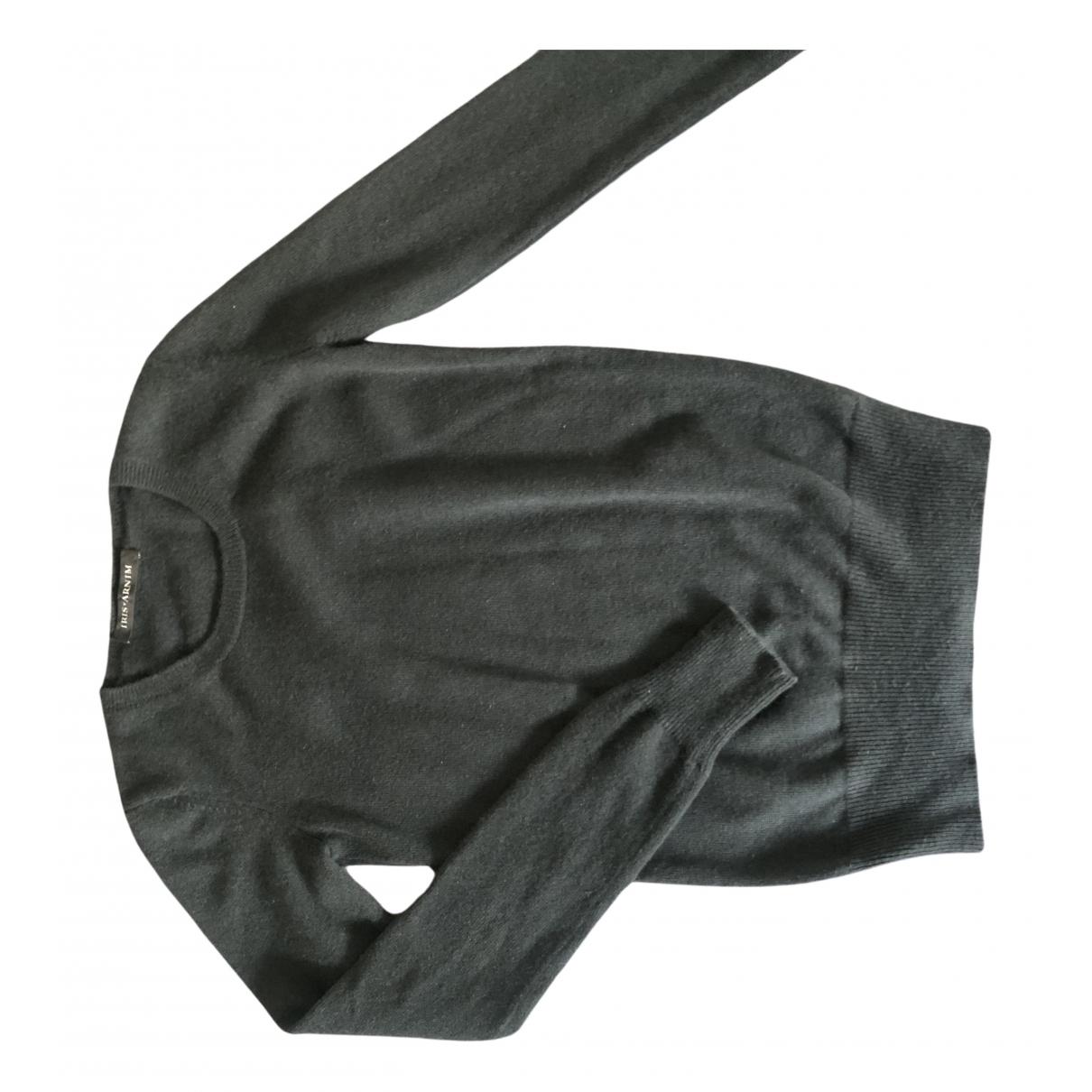 Iris Von Arnim \N Green Cashmere Knitwear for Women XS International