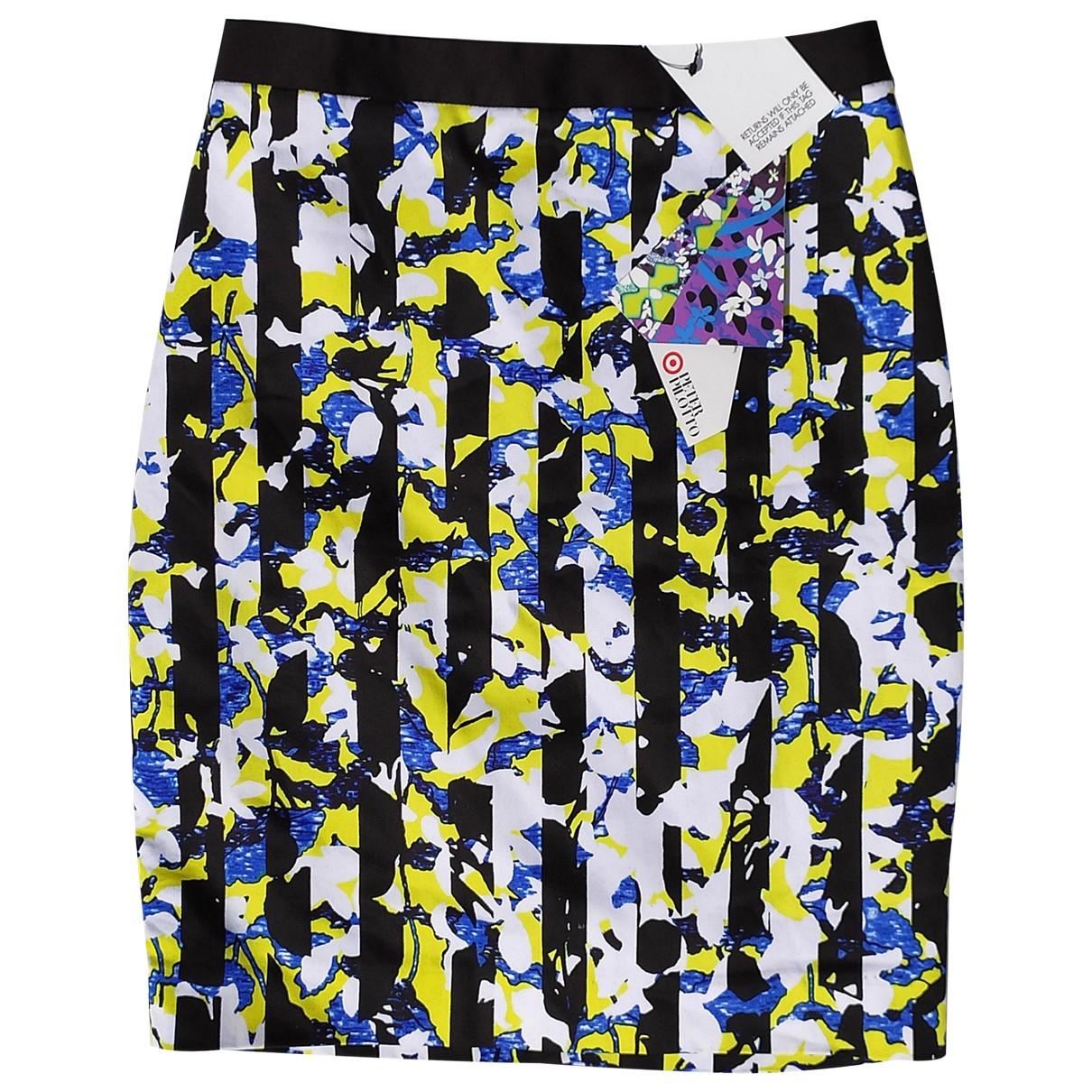 Peter Pilotto - Jupe   pour femme en coton - elasthane - multicolore