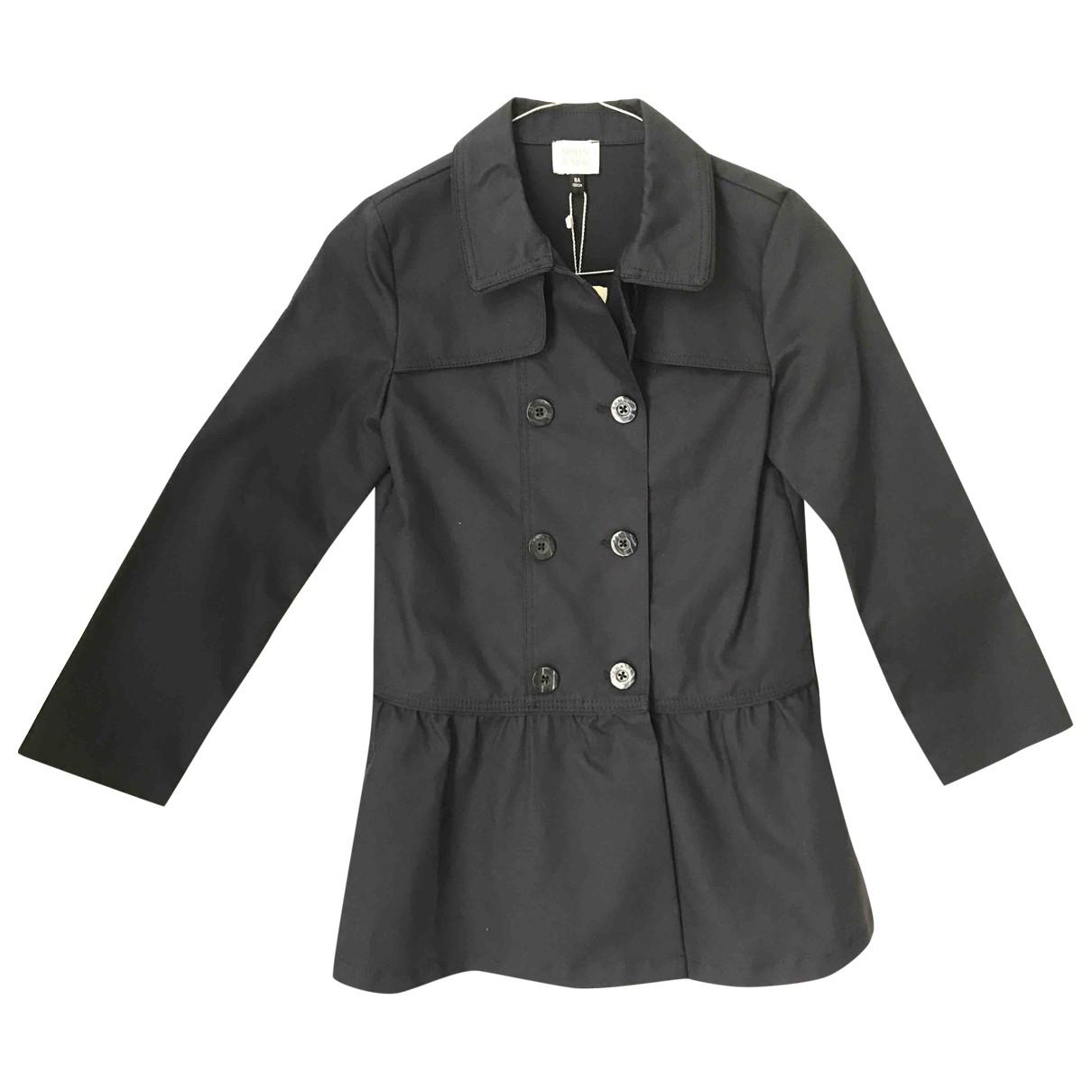 Armani Baby - Blousons.Manteaux   pour enfant en coton - bleu