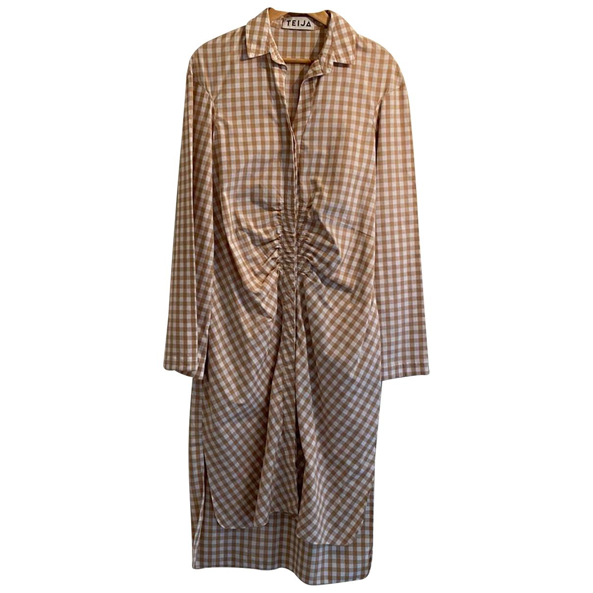 Teija \N Kleid in Baumwolle