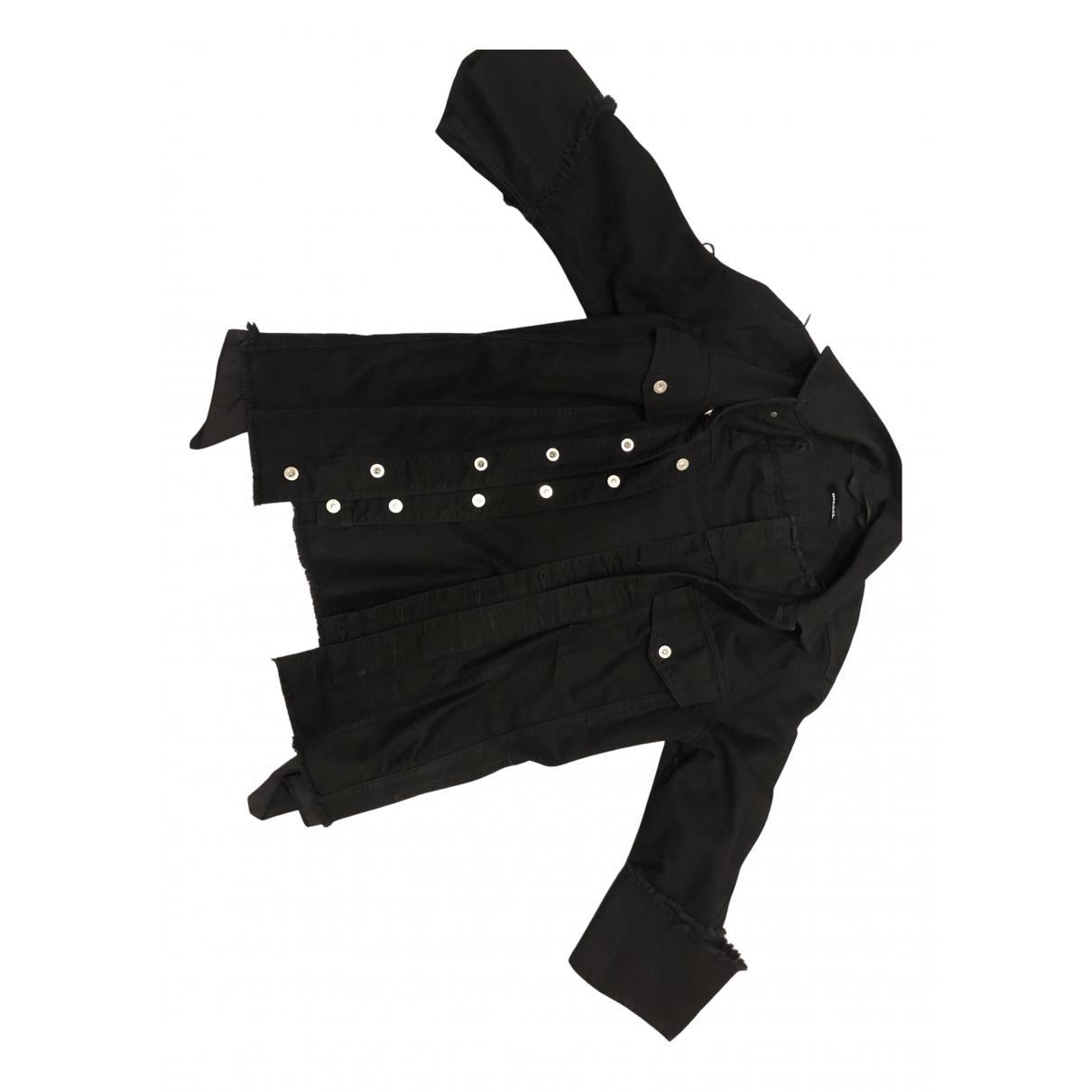 Diesel \N Jacke in  Schwarz Denim - Jeans