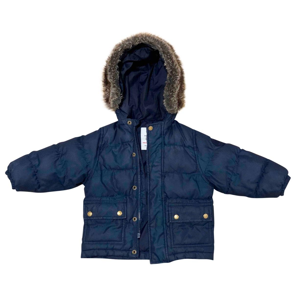 Petit Bateau \N Navy jacket & coat for Kids 18 months - up to 81cm FR