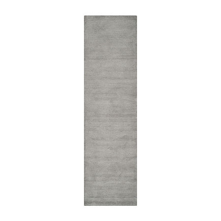 Safavieh Himalaya Collection Leptis Solid Runner Rug, One Size , Gray