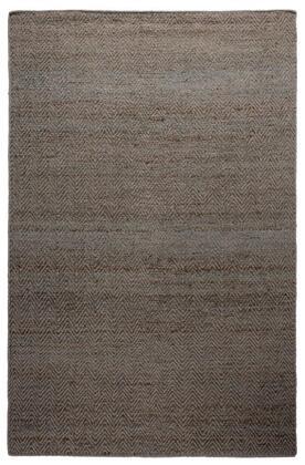 ELGEG9036BL000810 Ellington  EG9036-8' x 10' Jute and Wool hand Loomed  Jute/Wool  Rug in Blue  Rectangle