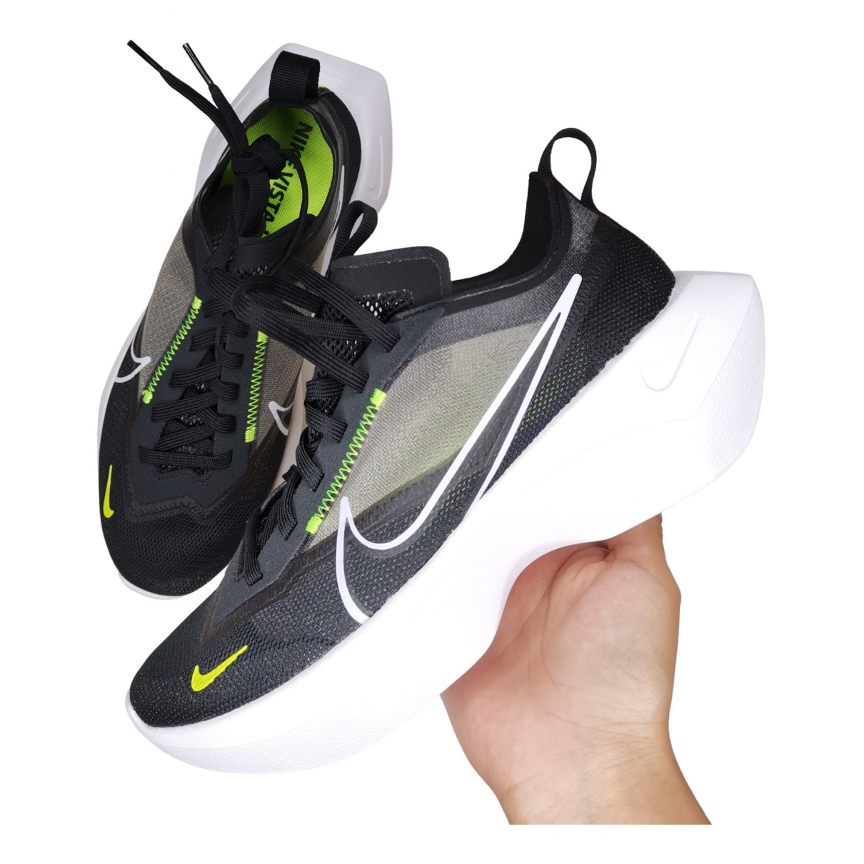 Nike \N Black Cloth Trainers for Women 37.5 IT