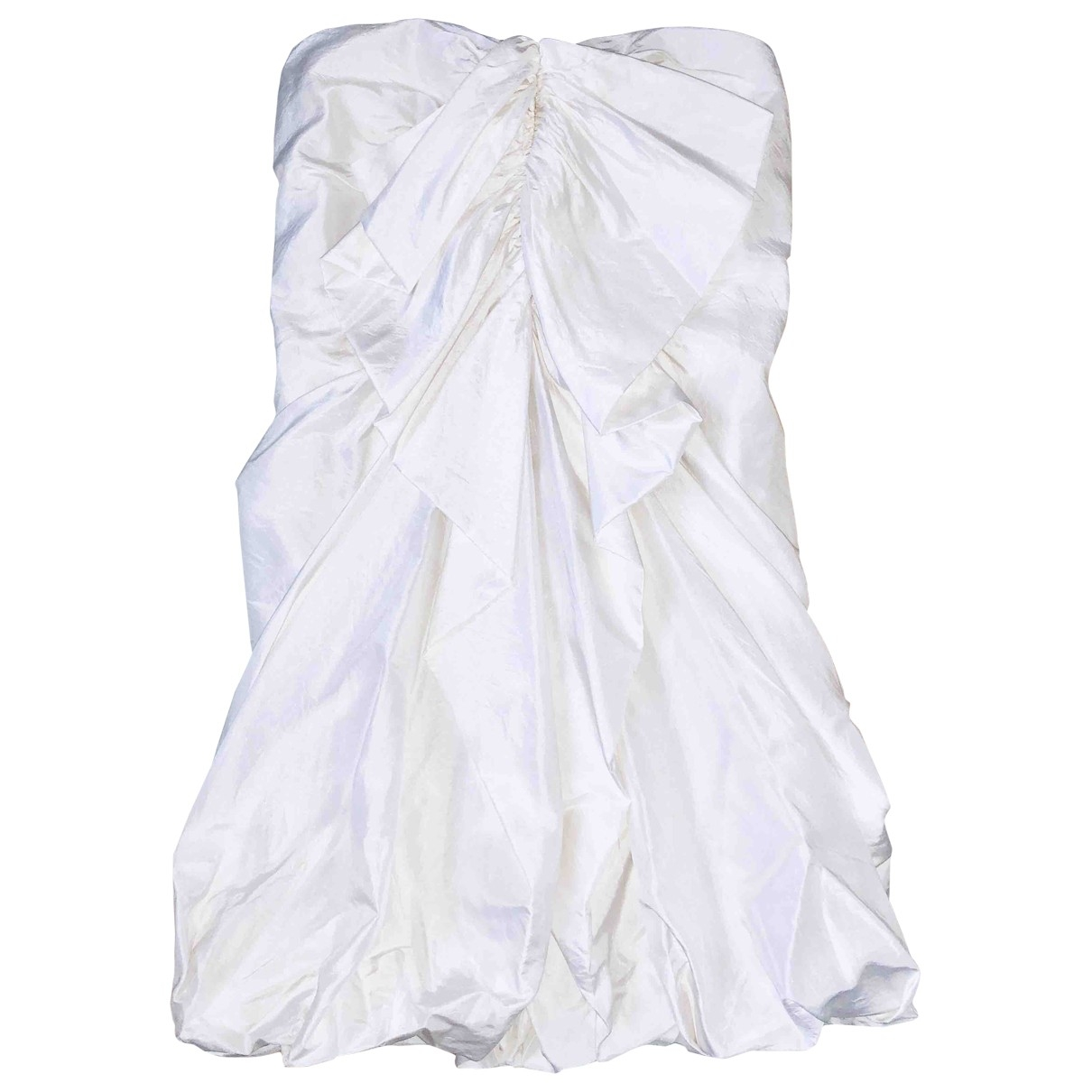 3.1 Phillip Lim \N Kleid in  Weiss Seide