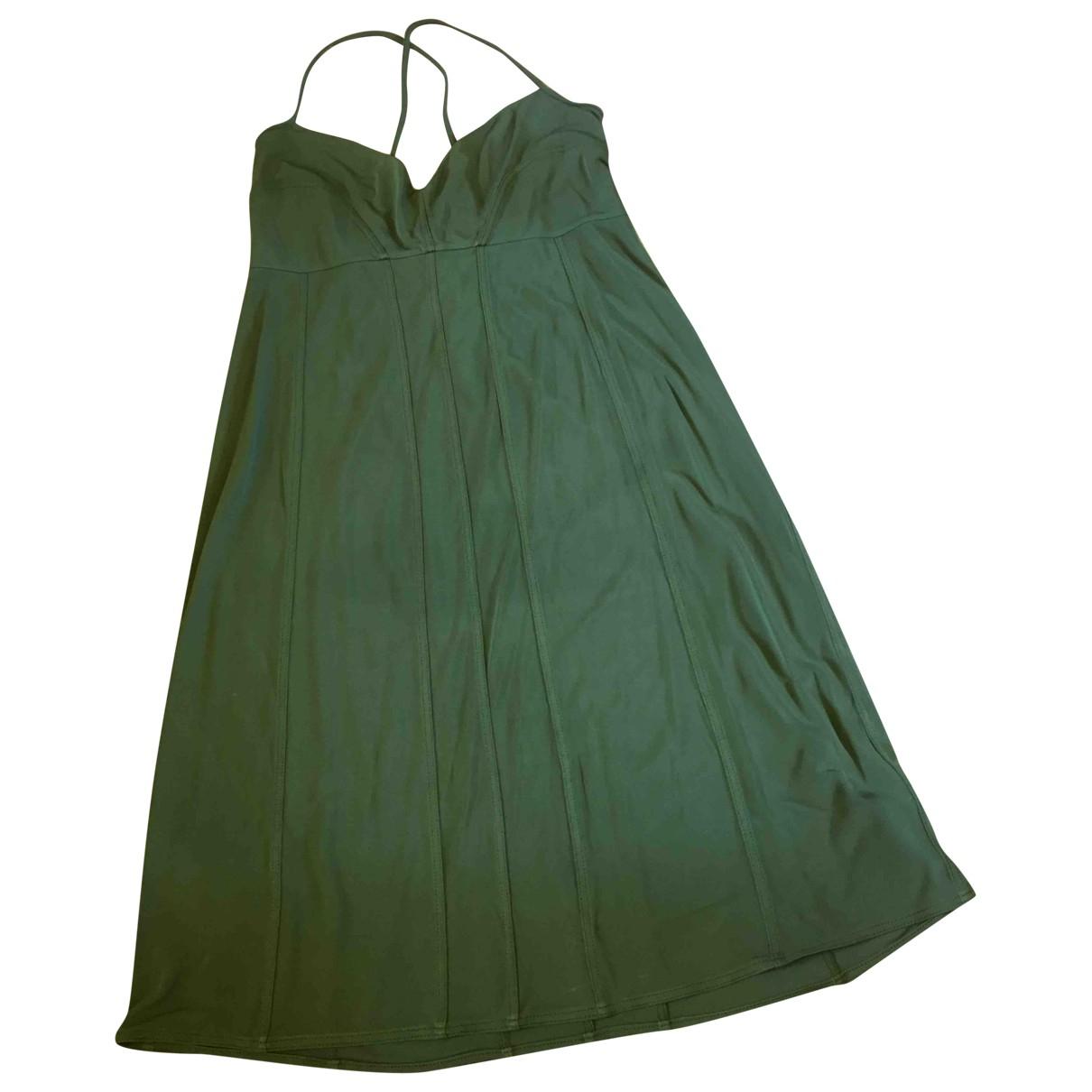 Agnona \N Kleid in  Gruen Viskose