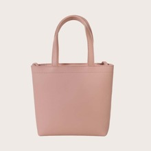 Girls Minimalist Tote Bag