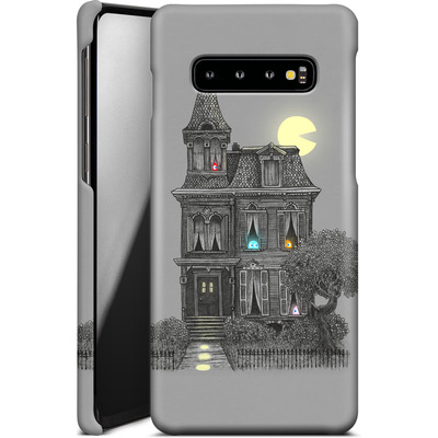 Samsung Galaxy S10 Plus Smartphone Huelle - Haunted By The 80s von Terry Fan