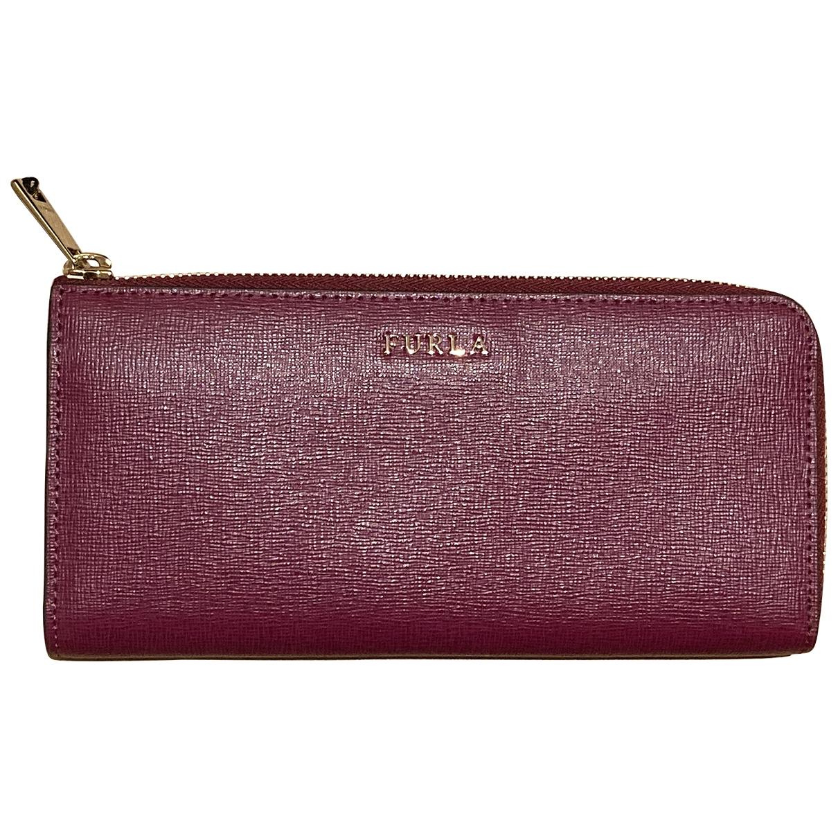 Furla - Portefeuille   pour femme en cuir - violet