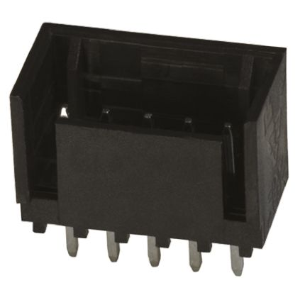 TE Connectivity , MTA-100, 6 Way, 1 Row, Straight PCB Header (5)