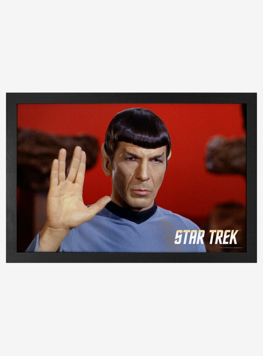 Star Trek Spock Close Up Poster