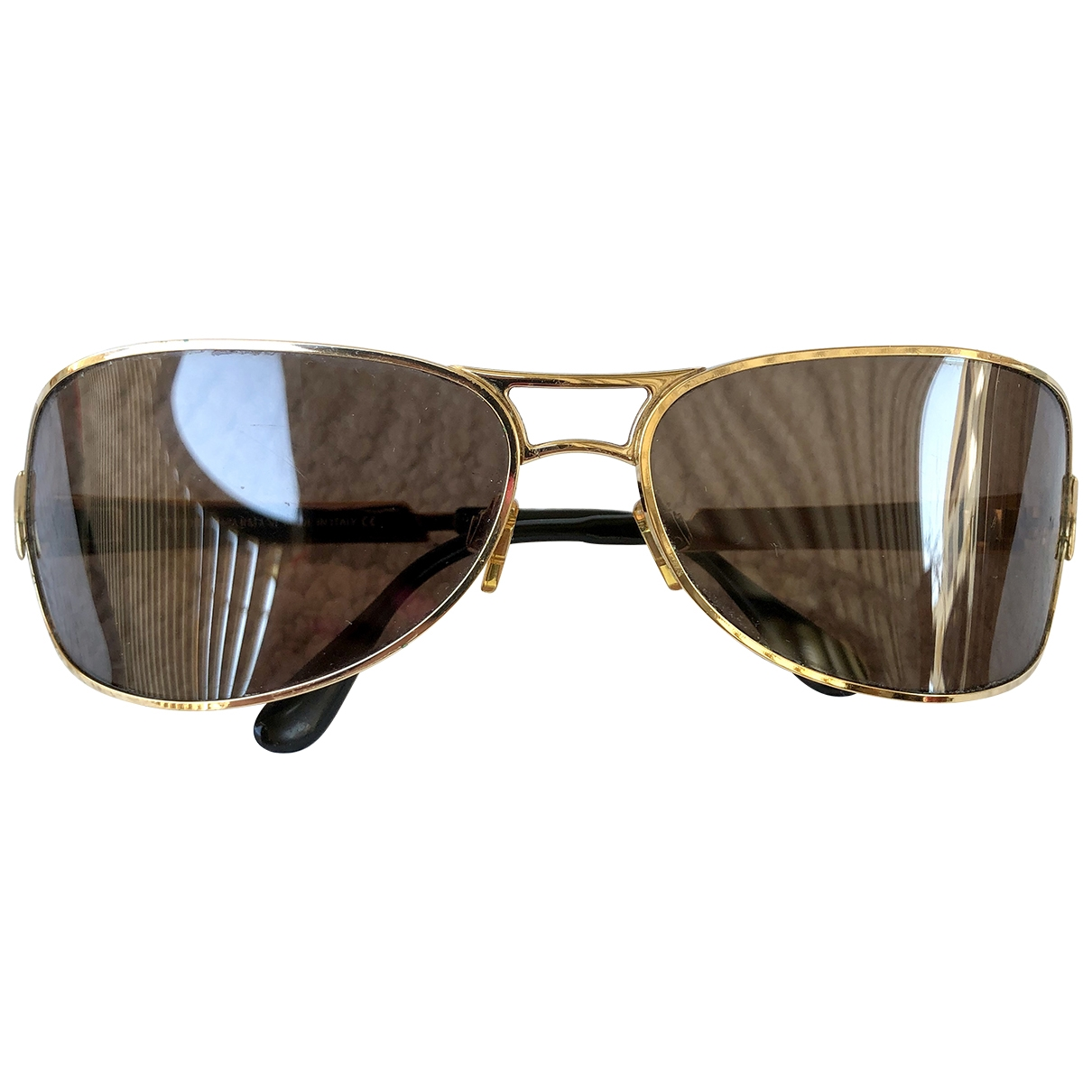 Emporio Armani \N Gold Metal Sunglasses for Women \N