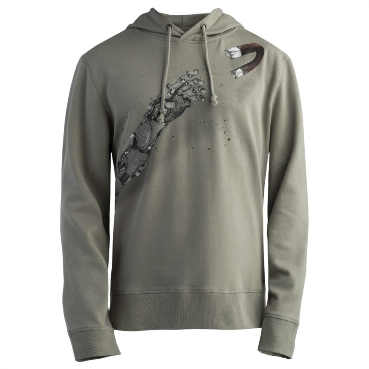 Non Signe / Unsigned \N Pullover.Westen.Sweatshirts  in Baumwolle