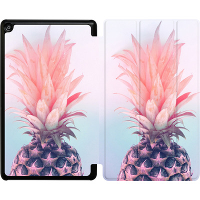 Amazon Fire HD 8 (2017) Tablet Smart Case - Pastel Pineapple von Emanuela Carratoni