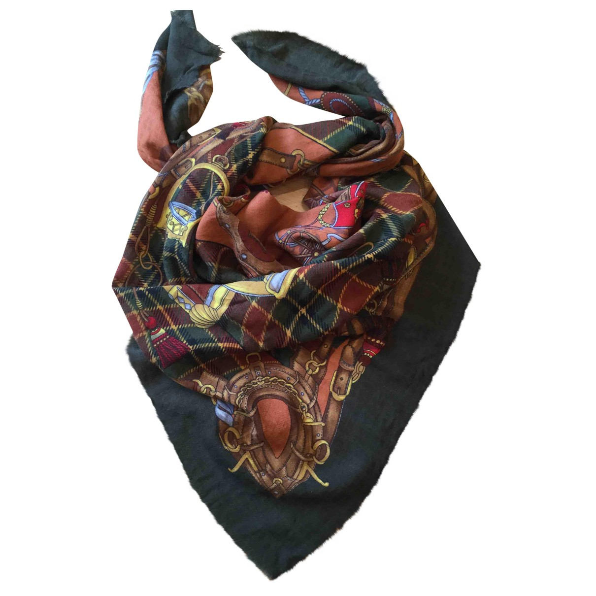 Gucci - Foulard   pour femme en laine