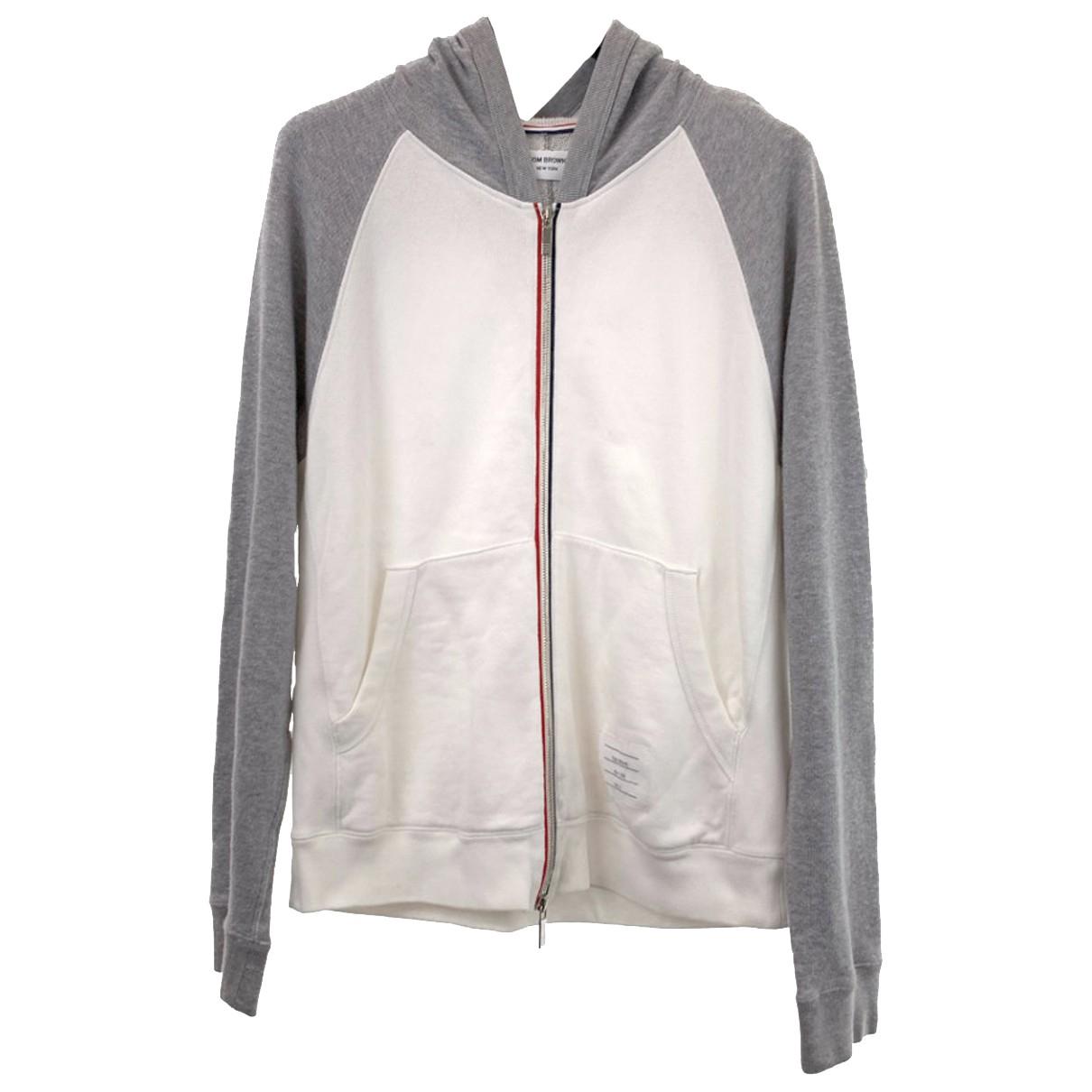 Thom Browne \N Pullover.Westen.Sweatshirts  in  Bunt Baumwolle