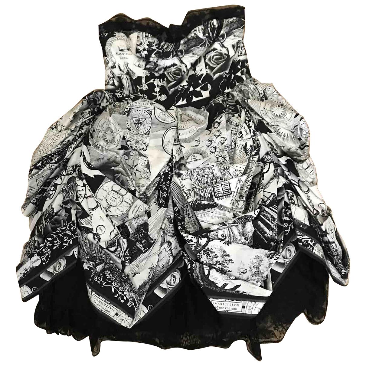 Leonard \N Kleid in  Grau Seide