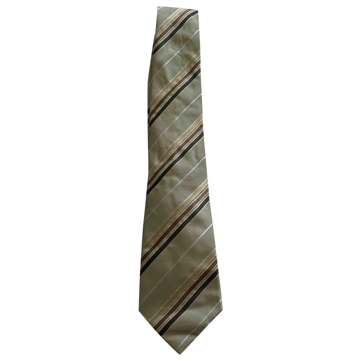 Giorgio Armani \N Grey Silk Ties for Men \N