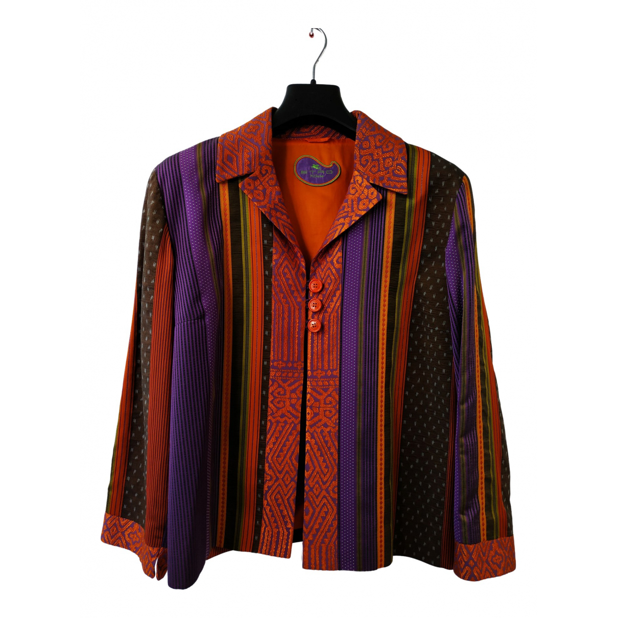 Etro \N Cotton jacket for Women 48 FR