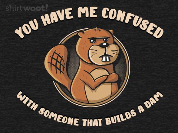 I Don't Build A Dam T Shirt