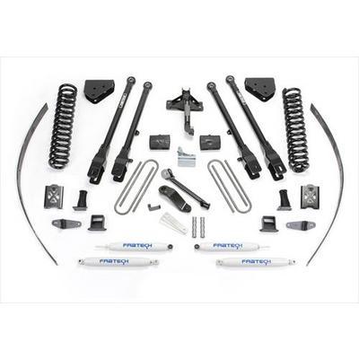 Fabtech 8 Inch 4-Link Lift Kit w/Performance Shocks - K2017