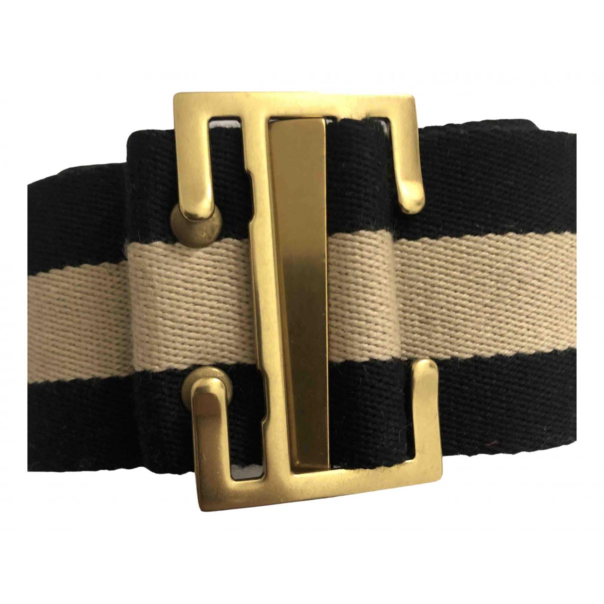 Cinturon D-ring de Lona Gucci