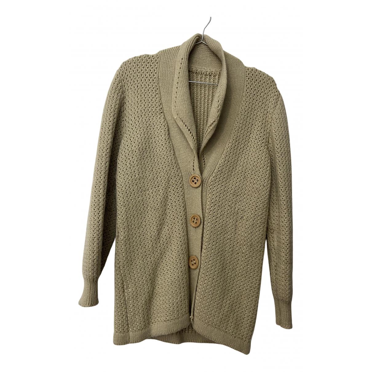 - Pull   pour femme en laine - beige