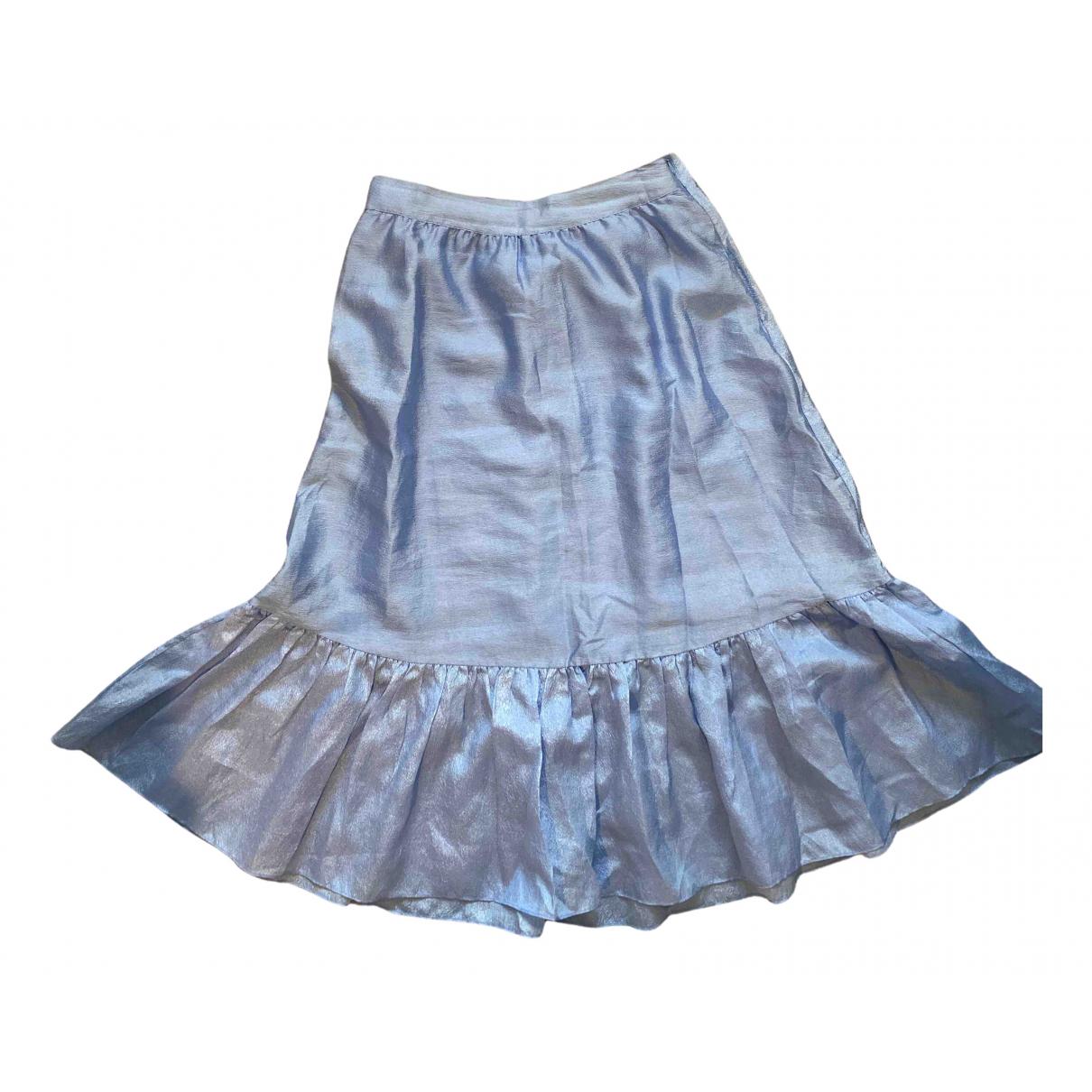 Stine Goya \N Rocke in  Blau Polyester